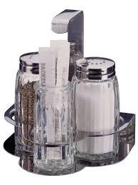 <b>Набор диспенсеров для</b> соли/перца в подставке с зубочистками ...
