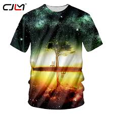 CJLM Cool 3d Printed T shirts Harajuku <b>Men 3D Creative</b> Magic ...