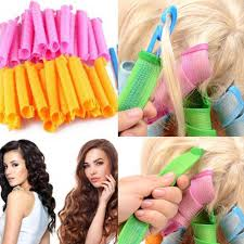 <b>Magic Long</b> Hair Curlers Curl Formers Leverage Rollers Spiral ...