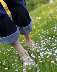 Image result for pictures of bare feet in grass