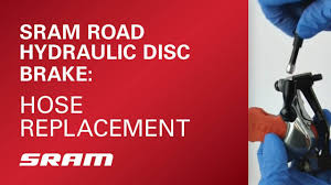 SRAM Road Hydraulic Disc Brake Hose Replacement - YouTube
