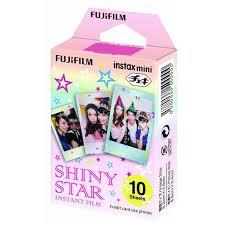 Details about <b>Fujifilm</b> Instax Mini 10 Sheets <b>Shiny Star</b> For <b>Fuji</b> 7s 8 ...