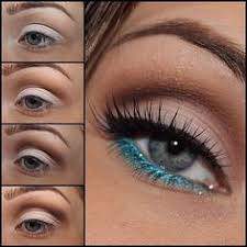 duquesasheenz soft eyes with blue liner pictorial steps