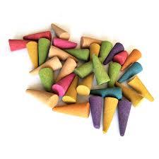 50/100/200 <b>pcs</b> Multi Flavor <b>Natural Incense</b> Stowage Colorful ...