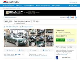 a description on the auto trader listing which describes it as ex royal autotrader london office 1