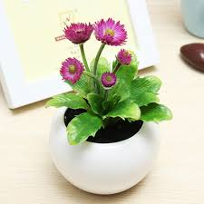 artificial flowers potted artificial plants for office decor