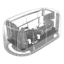 <b>ORICO</b> 6139U3-CR Transparent EU Plug HDD Enclosure Sale ...
