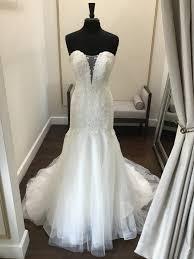 <b>Private Collection</b> OM1734 <b>Sample</b> Wedding Dress Save 73 ...