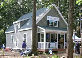 DTW  Westford  MA   Habitat for Humanity High R Value Prototype    In a celebration of community  Habitat officially turned the Westford House over to the homeowner at a Dedication Ceremony in early October of