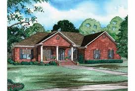 Eplans Bungalow House Plan   One Story Brick Bungalow      Front