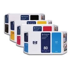 <b>HP 80 Ink Cartridges</b>