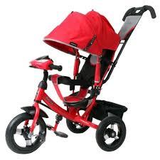 <b>Трехколесный велосипед Moby Kids</b> Comfort 12x10 AIR Car1 ...