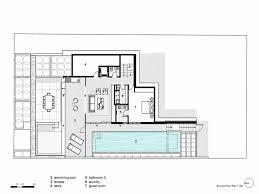 Modern Open Floor House Plans One Floor Modern Glass House