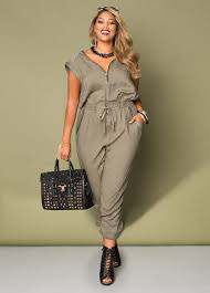 Image result for jumpsuit for office plus size