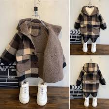 Children <b>Winter Outdoor Fleece</b> Jackets for Boys Clothing Hooded ...