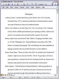 Annotated Bibliography Sample Apa Style  th Edition   Cover Letter     Annotated Bibliography Format