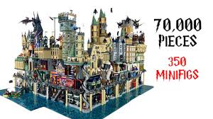 Huge <b>LEGO Harry Potter</b> City with Full Interior (4K) - YouTube