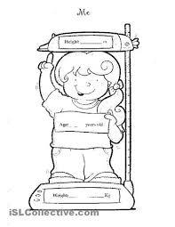 Peste 1000 de idei despre All About Me Worksheet pe Pinterest ...all about me preschool activities | All about me worksheet - Free ESL printable worksheets made