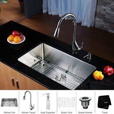 stainless steel sink racks ampquot whitehaven: stainless steel kitchen sink combination kraususa