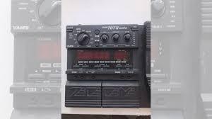 Гитарный <b>процессор эффектов zoom</b> 707 II купить в Республике ...