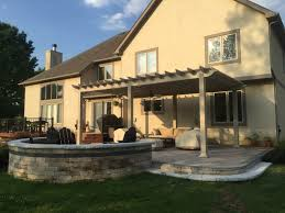 covered patio freedom properties: new albany oh paver patio builder