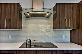 gallery modern kitchen backsplash glass