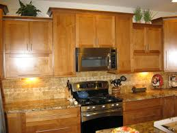 Honey Maple Kitchen Cabinets This Is A Good Example Of A Stain Grade Maple Cabinet With Full