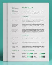 free resume cv templates to help you get the job free resume template by ayoob ullah