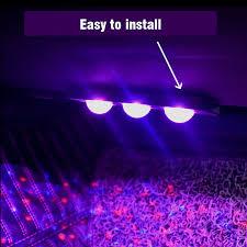 <b>Car</b> USB <b>LED</b> Atmosphere Music Control Ambient Star <b>Foot</b> Laser ...
