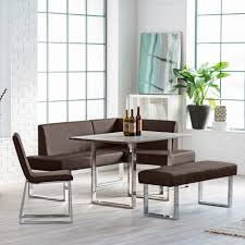 corner dining set breakfast nook leather bench chairs table kitchen furniture breakfast set furniture