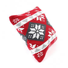 Купить <b>Подушка с орнаментом</b> Christmas story, 45х45 см ...