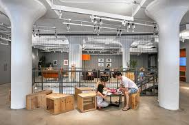 pin may etsy moved into its new hq in the dumbo neighborhood brooklyn industrial office