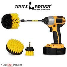 Drill <b>Brush Kit</b> with Extension - Drill <b>Brushes</b> for <b>Cleaning</b> Bathroom