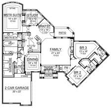 Traditional House Plan   Bedrooms and   Baths   Plan First Floor