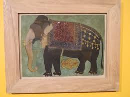 how to catch a wild elephant and other visions of mughal a young undecorated elephant
