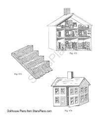 Free Doll House Plans Plans DIY Free Download How To Make    Free Doll House Plans