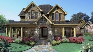 House Plan at FamilyHomePlans comCountry Craftsman Tuscan House Plan Elevation