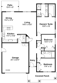 House Plan at FamilyHomePlans comBungalow Cottage Country Craftsman Ranch House Plan Level One