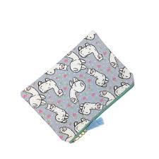 Cartoon Alpaca Tassels Zipper Coin Purse Clutch Bag <b>Woman</b> ...