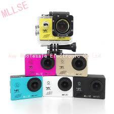 100% MLLSE waterproof <b>4K WIFI Sport Action</b> camera Ultra HD 4K ...