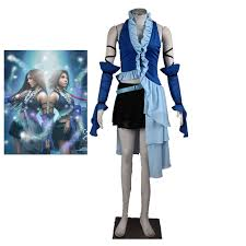 <b>Anime Final Fantasy Cosplay</b> Final Fantasy X 10 Yuna Lenne Song ...