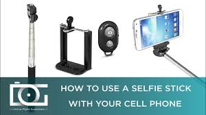 How To Use <b>Selfie Stick</b> for Android & IPhone With <b>Bluetooth Remote</b>