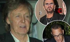Paul McCartney, Ringo Starr and Tom Hanks enjoy night out | Daily ...