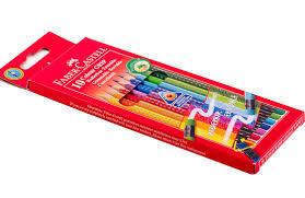 Набор <b>Faber</b>-<b>Castell</b> Grip 2001 (<b>10 цветных карандашей</b>) 116613 ...