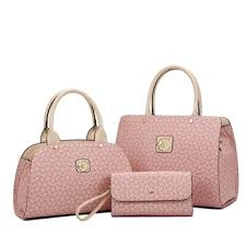 <b>Hot Sale</b> 3 Pcs In <b>1 Set</b> Leather Lady Designer Handbag Totes ...