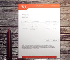 don t hold back on your invoice 25 inspiring designs simple design invoice by nathan thomson
