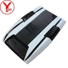 YCSUNZ matte black <b>car bonnet</b> cover <b>hood</b> scoop vent <b>car</b> styling ...