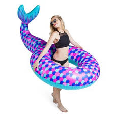 <b>Круг надувной BigMouth Mermaid</b> Tail (3680119) - Купить по цене ...