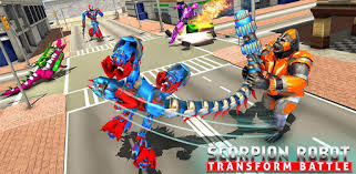 Приложения в Google Play – <b>Робот</b>-скорпион трансформер и ...