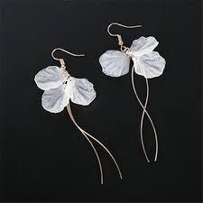 Retro <b>Asymmetric</b> Butterfly Pearl Earrings | Fashion earrings ...